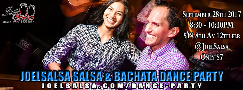 Practica Dance Party at JoelSalsa on September 28th