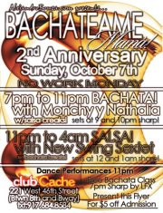 Bachateame Mama | Club Cache Oct 7 2012
