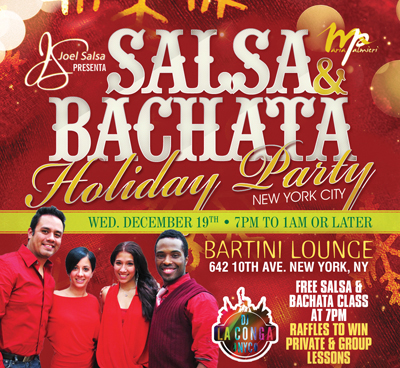 SALSA & Bachata Holiday
