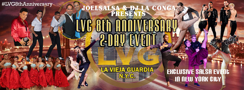 LVG 8th Anniversary on August 27 & 28, 2016