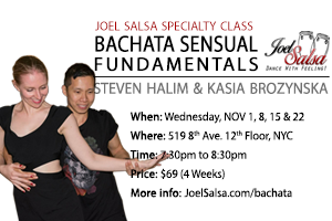 bachata sensual workshop Speciality NOV 2017