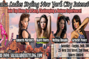Salsa ladies styling New York city Intensive