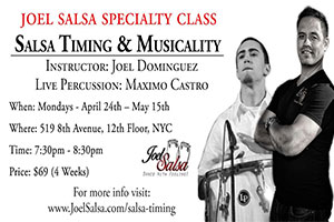 salsa timing speciality Course at JoelSalsa