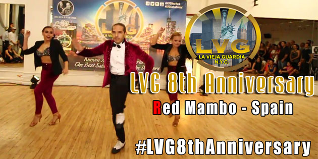 Red Mambo from Spain at LVG 8th anniversary