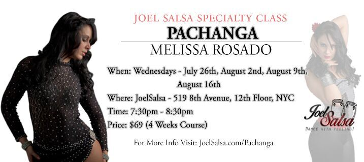 Pachanga dance workshop by melissa at JoelSalsa NYC AUGUST 2017