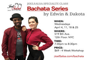 bachata traditional JoelSalsa Specialty Class on April 2018