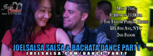 Joel Salsa Practica May 17th Dance Party