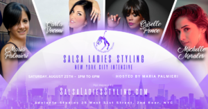 salsa ladies styling nyc august 25th 2018