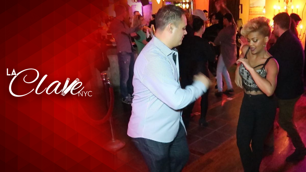 Joel Dominguez & Delia Madera Salsa Dancing at NYC