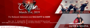 La Clave NYC Salsa Social event at NYC on 21st March 2019