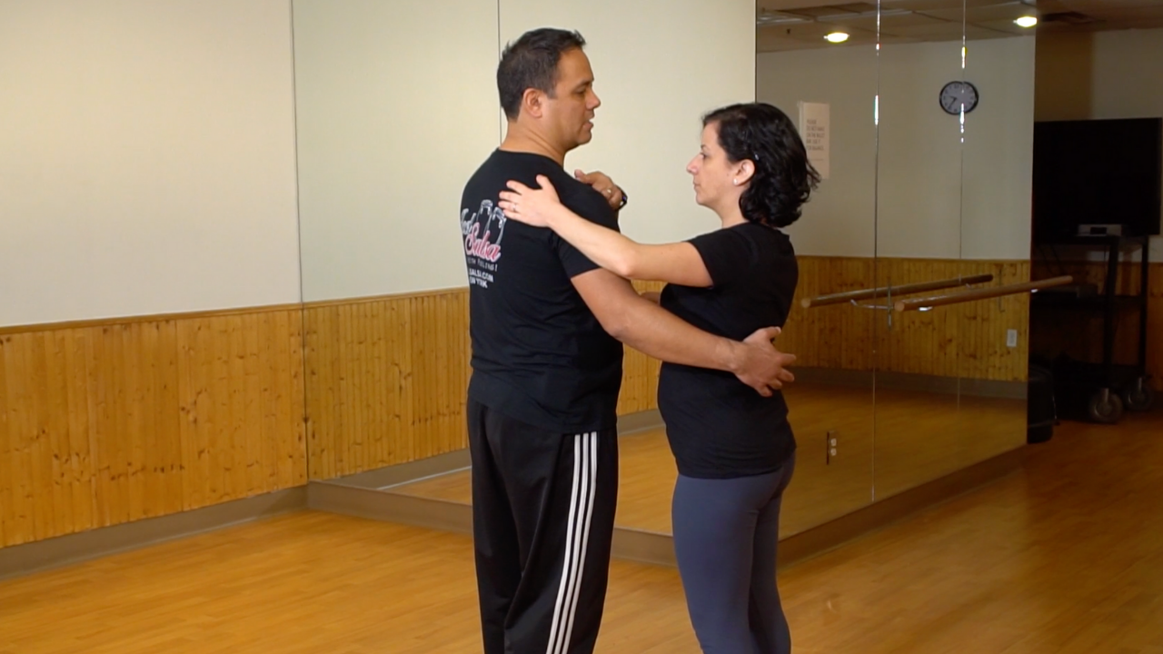 Hand Position When Leading & Following In Salsa Dancing