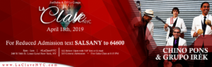 La Clave NYC Salsa Social event at NYC on 18th April 2019