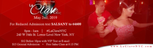 La Clave NYC Salsa Social event at NYC on 2nd May 2019