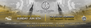 LVG Salsa Social on June 9th 2019