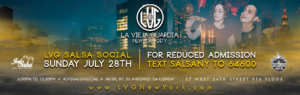 LVG Salsa Social on July 28th 2019