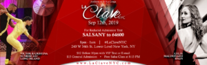 La Clave NYC on Thursday September 12th 2019