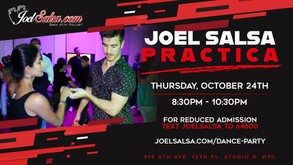 Practica Dance Party Thursday, October 24th