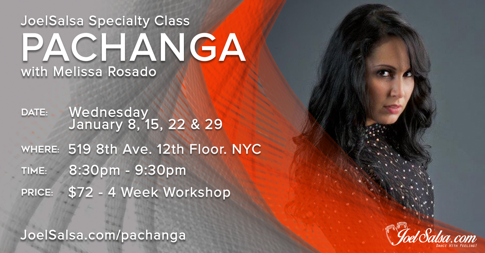 Pachanga With Melissa Rosado - JoelSalsa Specialty Classes January 2020